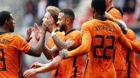 Belanda Makin Percaya Diri, Weghorst mencetak gol perdana untuk belanda