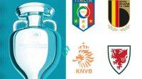 16 Besar Euro 2020, Empat Tim Lolos 16 Besar