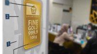 Harga emas batangan 24 karat