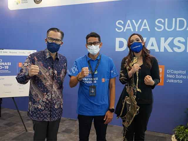 mewujudkan Indonesia bebas Covid-19