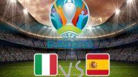 Jadwal Italia vs Spanyol