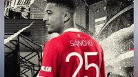 Sancho Pakai Nomor 25 di MU