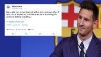 Messi Resmi Bertahan di Barcelona