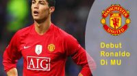 debut Ronaldo bersama Manchester United