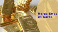 harga emas batangan 25 gram, harga emas 24 karat