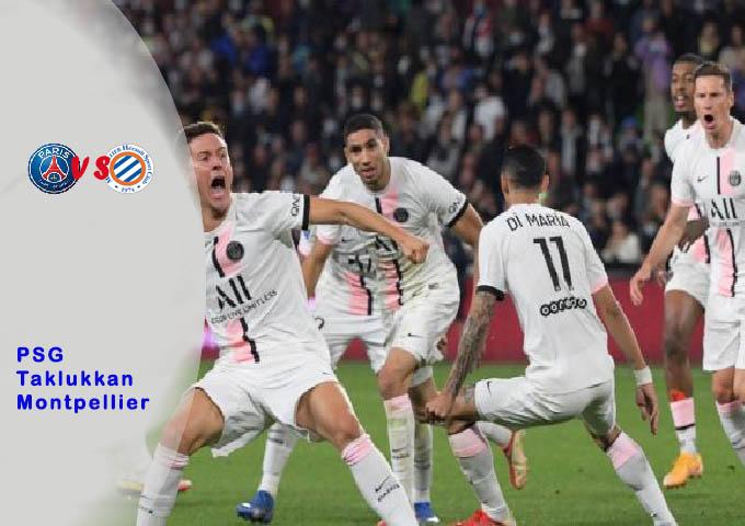 PSG Taklukkan Montpellier