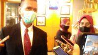 Proses Wisuda Universitas Sjakhyakirti Palembang