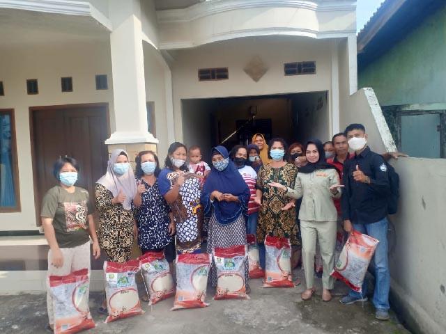 beras bantuan Gubernur Sumsel