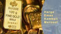 harga emas akhir pedangangan