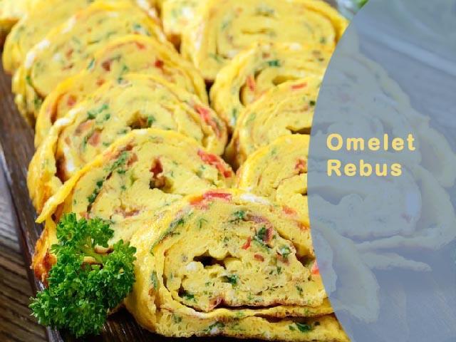 Omelet rebus