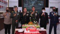 Anjangsana di HUT TNI ke-76