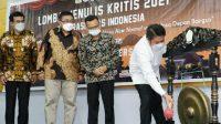 Grand Final Lomba Menulis Kritis, Generasi Emas Indonesia