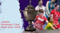 Jadwal Perempat Final Piala Uber, Indonesia vs Thailand