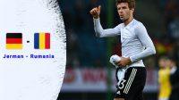 Jerman tekuk Rumania, menciptakan gol tambahan