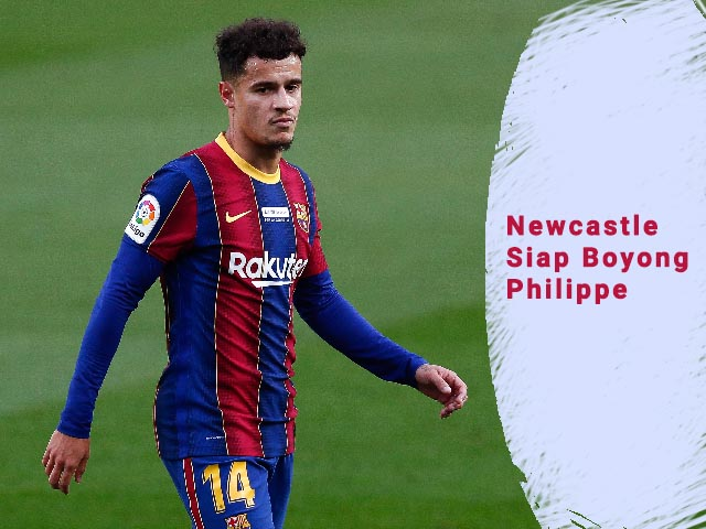 Newcastle Boyong Philippe, Philippe Coutinho dari Barcelona