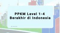 PPKM Level 1-4 Berakhir di Indonesia