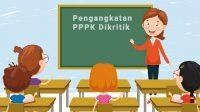 Pengangkatan PPPK Dikritik, guru honorer yang menjadi PPPK, pemberian afirmasi kepada guru