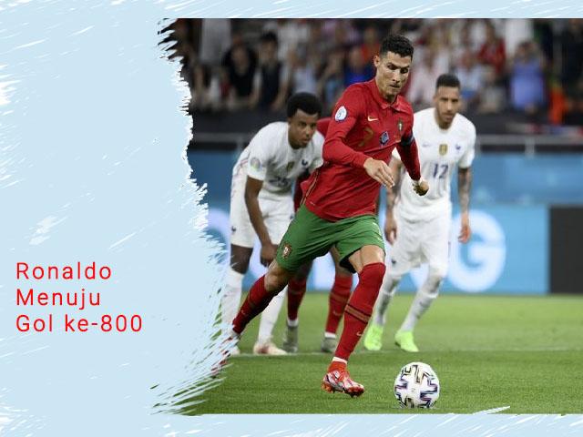 Ronaldo Menuju Gol ke-800, gol pada level profesional, satu gol pada enam laga