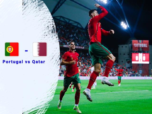 penutup pertandingan persahabatan, Ronaldo pertajam rekor gol, kiper qatar