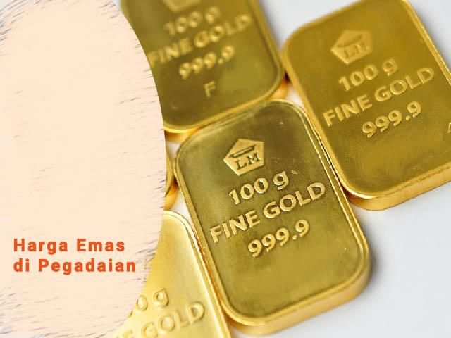 harga emas di pegadaian, harga emas batangan 25 gram