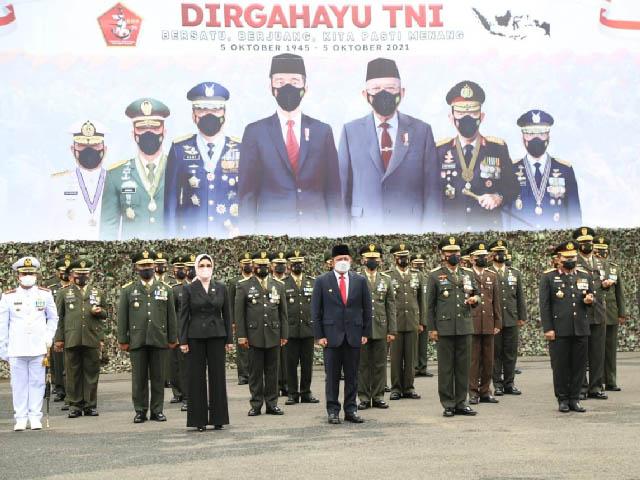 peringatan HUT TNI ke 76, penjaga utama kedaulatan bangsa
